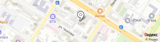 Престиж на карте Читы
