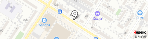 Салон-парикмахерская на карте Читы
