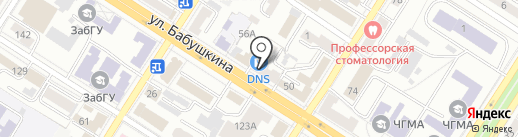 Глобус маркет Сибири на карте Читы