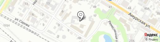 Банно-прачечный трест, МП на карте Читы