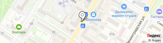 Магазин бижутерии на карте Читы