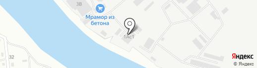 Подкова на карте Читы