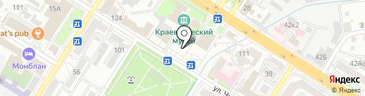 Музейно-выставочный центр Забайкальского края на карте Читы