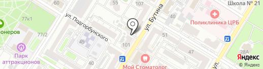 ЦирюльникЪ на карте Читы