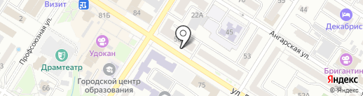 Аптека №2 на карте Читы