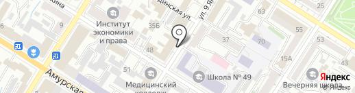 Профсоюз гражданского персонала Вооруженных Сил России Забайкальского края на карте Читы