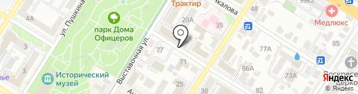 Нотариус Колесникова Е.В. на карте Читы