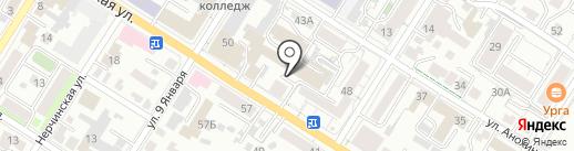 Принт-Скрин на карте Читы