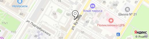 Микки-Тики на карте Читы