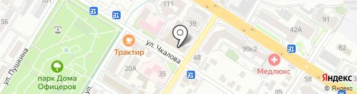 Музей МВД по Забайкальскому краю на карте Читы