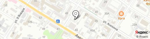 Библиотека №1 им. Н.А. Островского на карте Читы