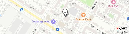 ВСК, САО на карте Читы