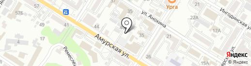 #CyberHospital на карте Читы