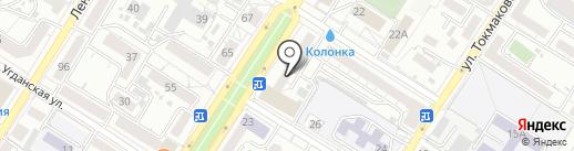 Мировые судьи Черновского района на карте Читы