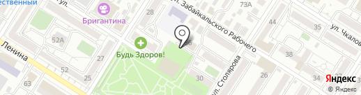 СДЮСШОР Забайкальского края на карте Читы