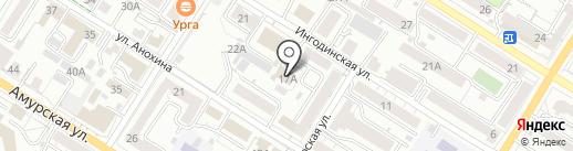 Региональный центр спортивной подготовки Забайкальского края, ГУ на карте Читы
