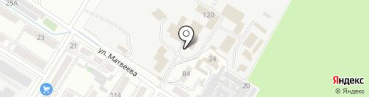 Маяк, FM 104.5 на карте Читы