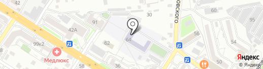 Многопрофильная гимназия №12 на карте Читы