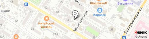 Sushi black на карте Читы