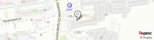 Квартирант на карте Читы