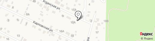 Автокемпинг на карте Смоленки
