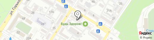 Маккавеевский пищекомбинат на карте Читы