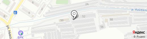 Эквалайзер на карте Читы