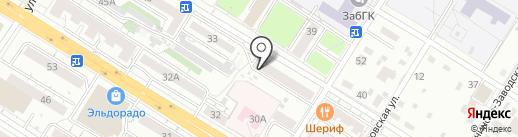 Федерация Ушу CWC Забайкальского края на карте Читы