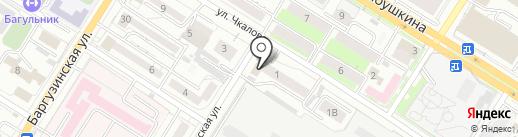 Почтовое отделение №39 на карте Читы