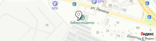 CHIPAEV на карте Читы