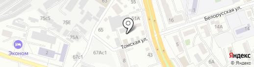 НИИ ветеринарии Восточной Сибири на карте Читы