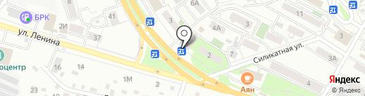 Тольятти на карте Читы