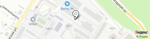 Единая служба эвакуации автомобилей на карте Читы