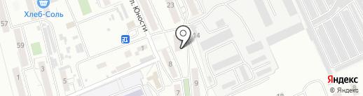 Библиотека №14 на карте Читы