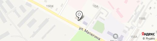 Продуктовый магазин на карте Атамановки