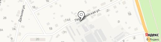 Атамановский пищекомбинат на карте Атамановки
