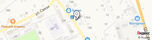 Кира-С на карте Атамановки