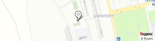 Музей гражданской авиации Амурской области на карте Аэропорта