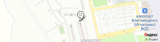 Городская поликлиника №1 на карте Аэропорта