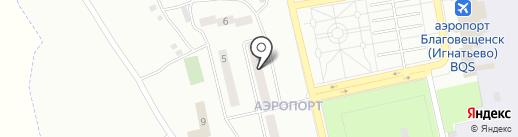 Детская поликлиника №1 на карте Аэропорта