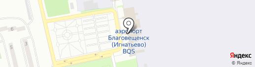 Амурфармация на карте Аэропорта
