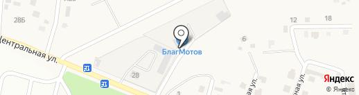 БлагМото на карте Чигирей