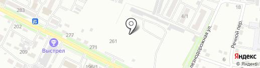 Феррум на карте Благовещенска