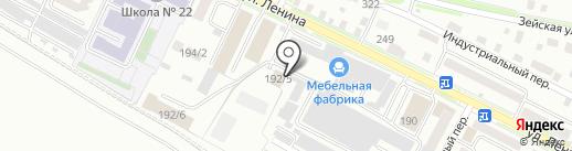 Военно-мемориальная компания на карте Благовещенска