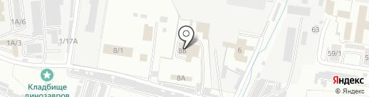 Торгово-сервисная компания на карте Благовещенска