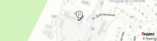 Амурдорснаб на карте Плодопитомника