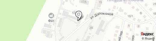 IDEYA FIX на карте Плодопитомника