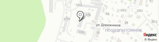 Сандал на карте Плодопитомника