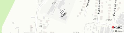 НиВа на карте Плодопитомника