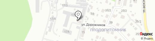 Авторадио на карте Плодопитомника